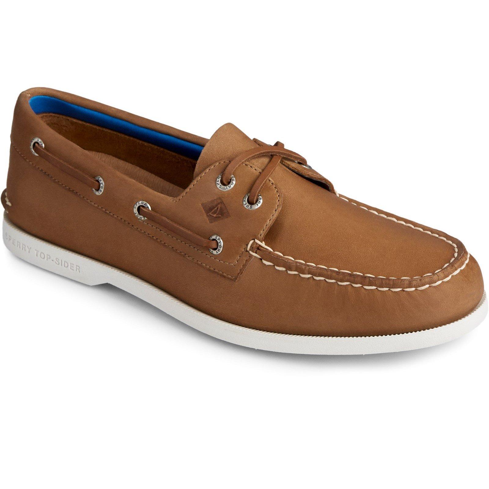 Sperry Men's Authentic Original PLUSHWAVE Boat Shoe Various Colours 31525 - Tan 8