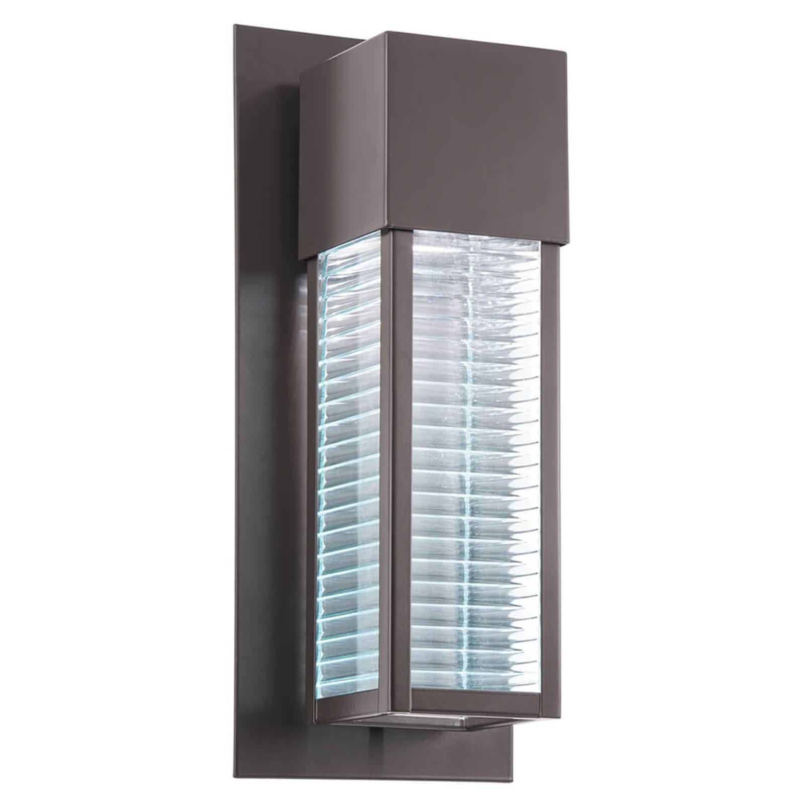Moderne utendørs LED-vegglampe Sorel