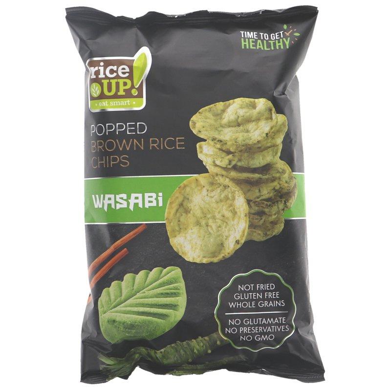Riisisipsi Sour Wasabi - 32% alennus