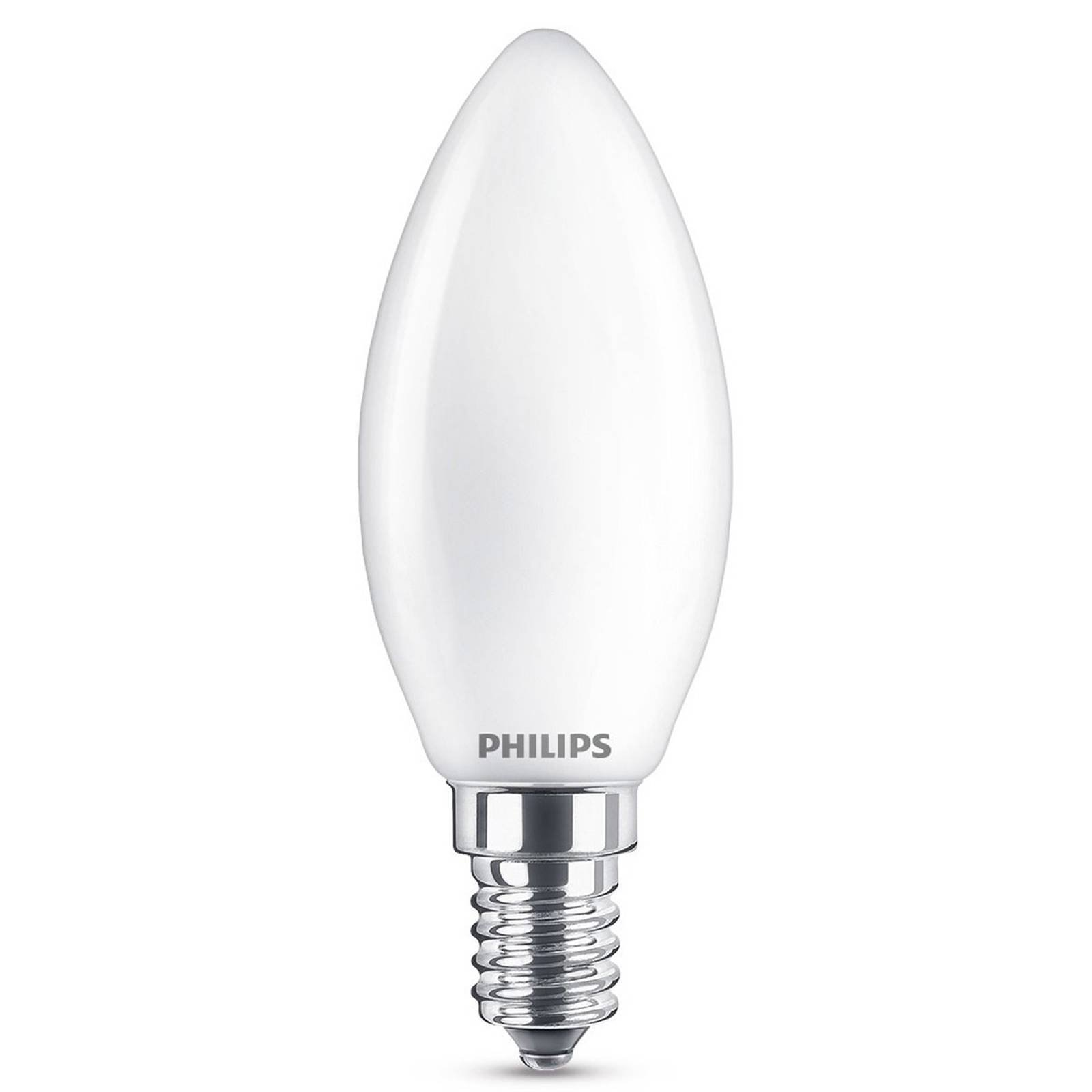 E14 2,2 W 827 LED-mignonpære, matt