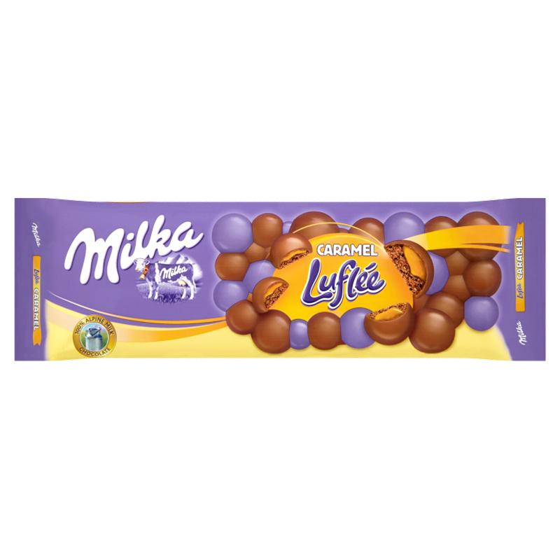 """Maitosuklaa """"Caramel Luflée"""" 250g - 20% alennus"""
