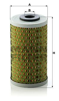 Hydrauliikkasuodatin, automaattivaihteisto MANN-FILTER H 613 x