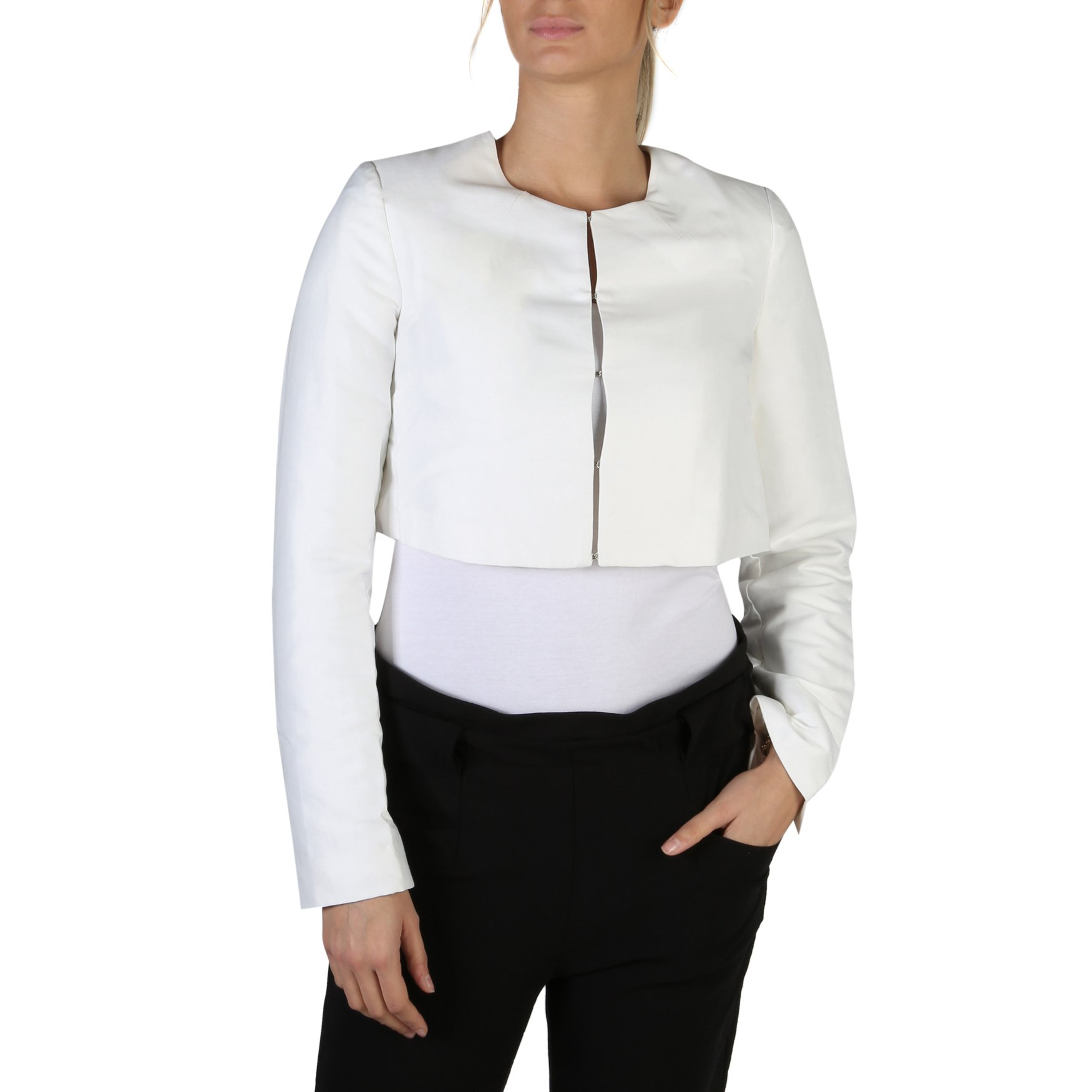 Guess Women's Jacket Various Colours W83N16 - white XS
