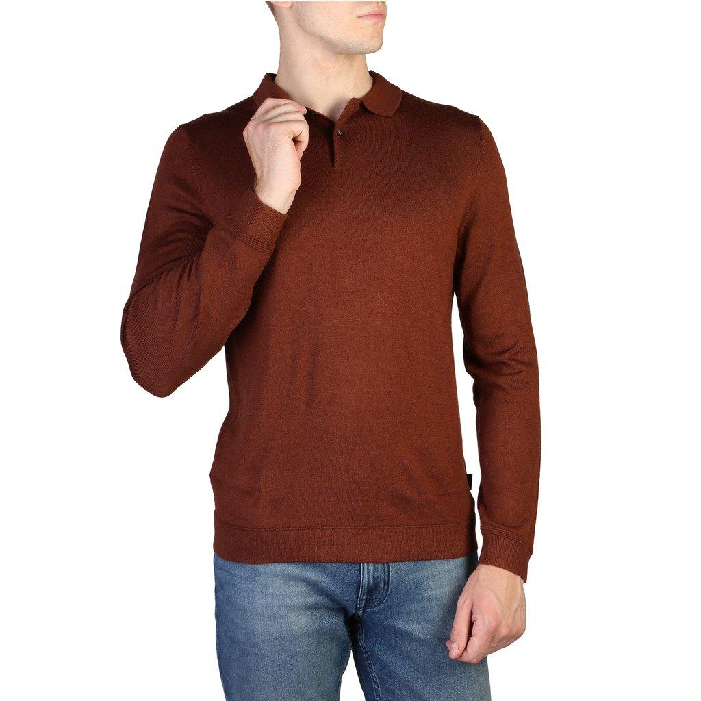 Calvin Klein Men's Sweater Brown K10K101396 - brown M