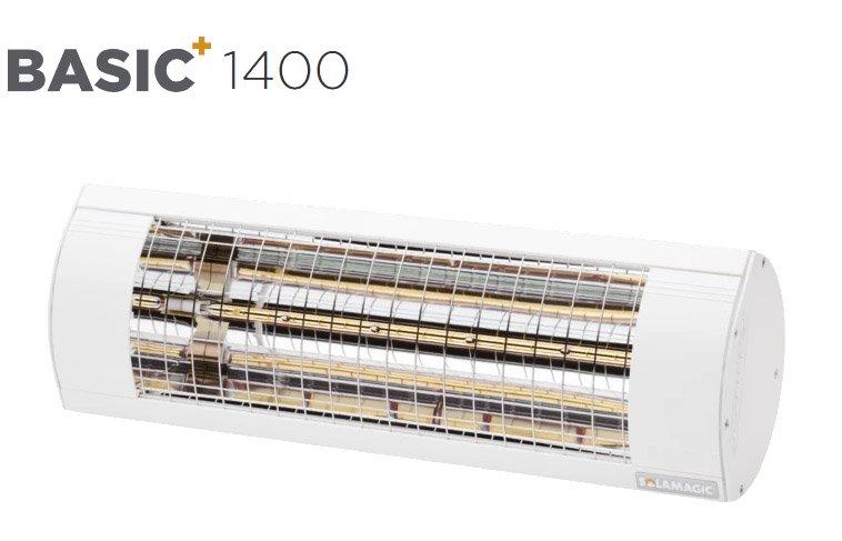 Solamagic - 1400 BASIC+ Patio Heater - White