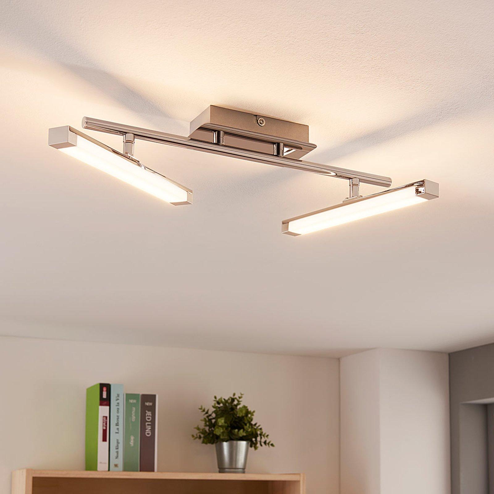 Moderne LED-taklampe Pilou, dimbar i tre trinn