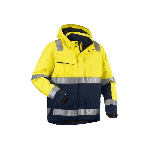 Blåkläder 4870198733894XL Varseljacka varselgul/svart, vinter Stl 4XL