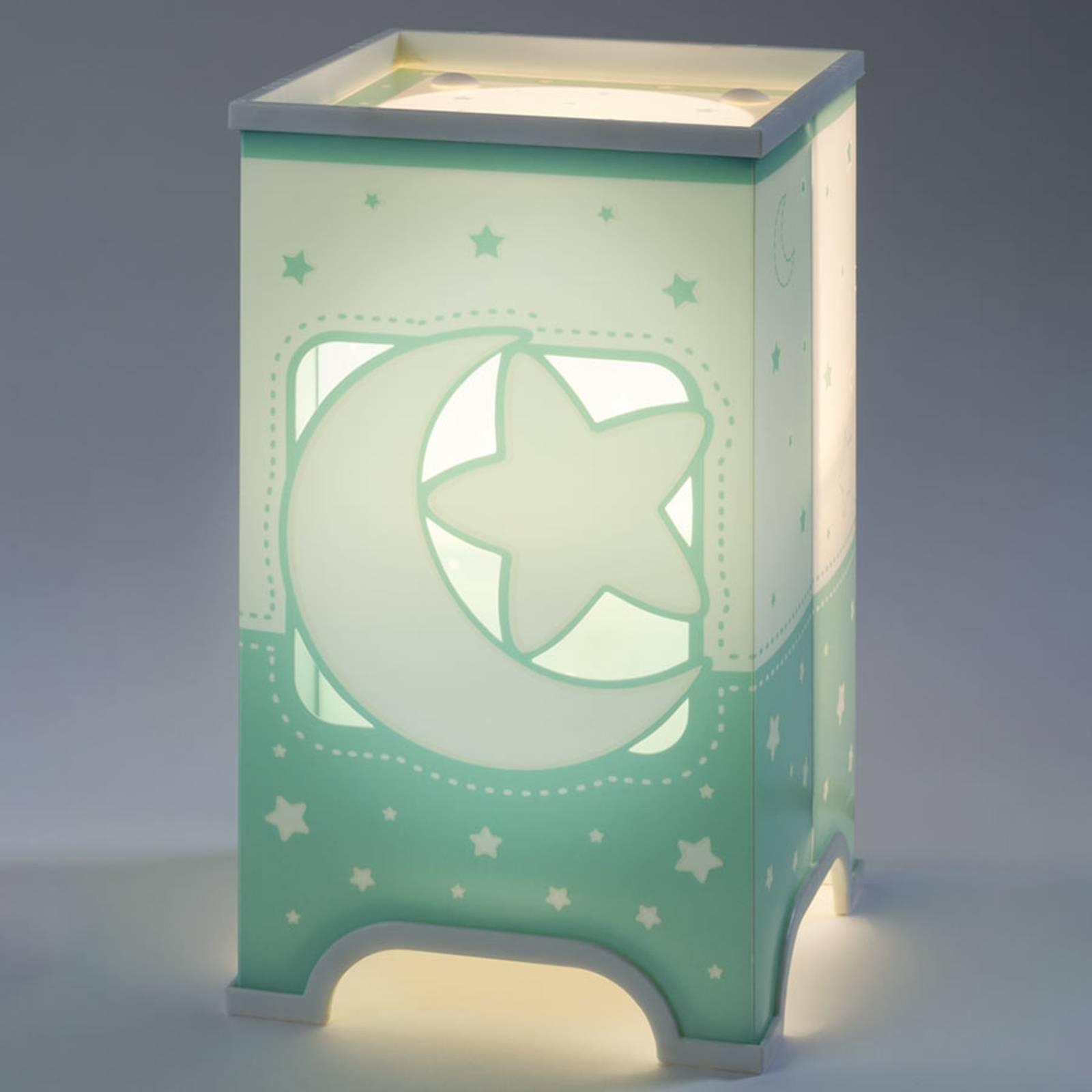 Mintunvihreä LED-pöytälamppu Yötaivas