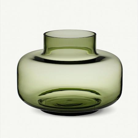 Urna vase - olive