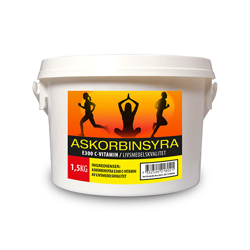 Askorbinsyra C vitamin 1500 g