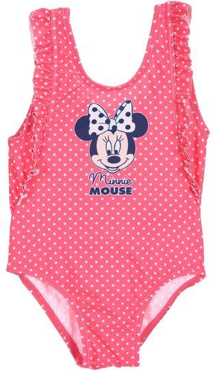 Disney Minni Mus Badedrakt, Dark Pink, 12 Måneder