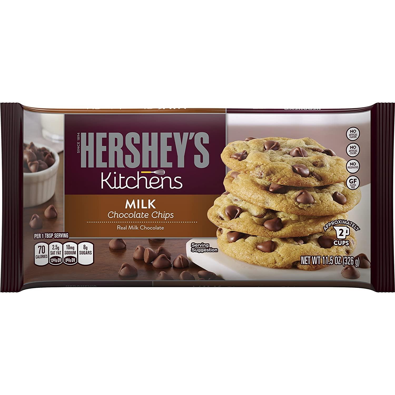 Hersheys Baking Chips - Milk Chocolate 326g
