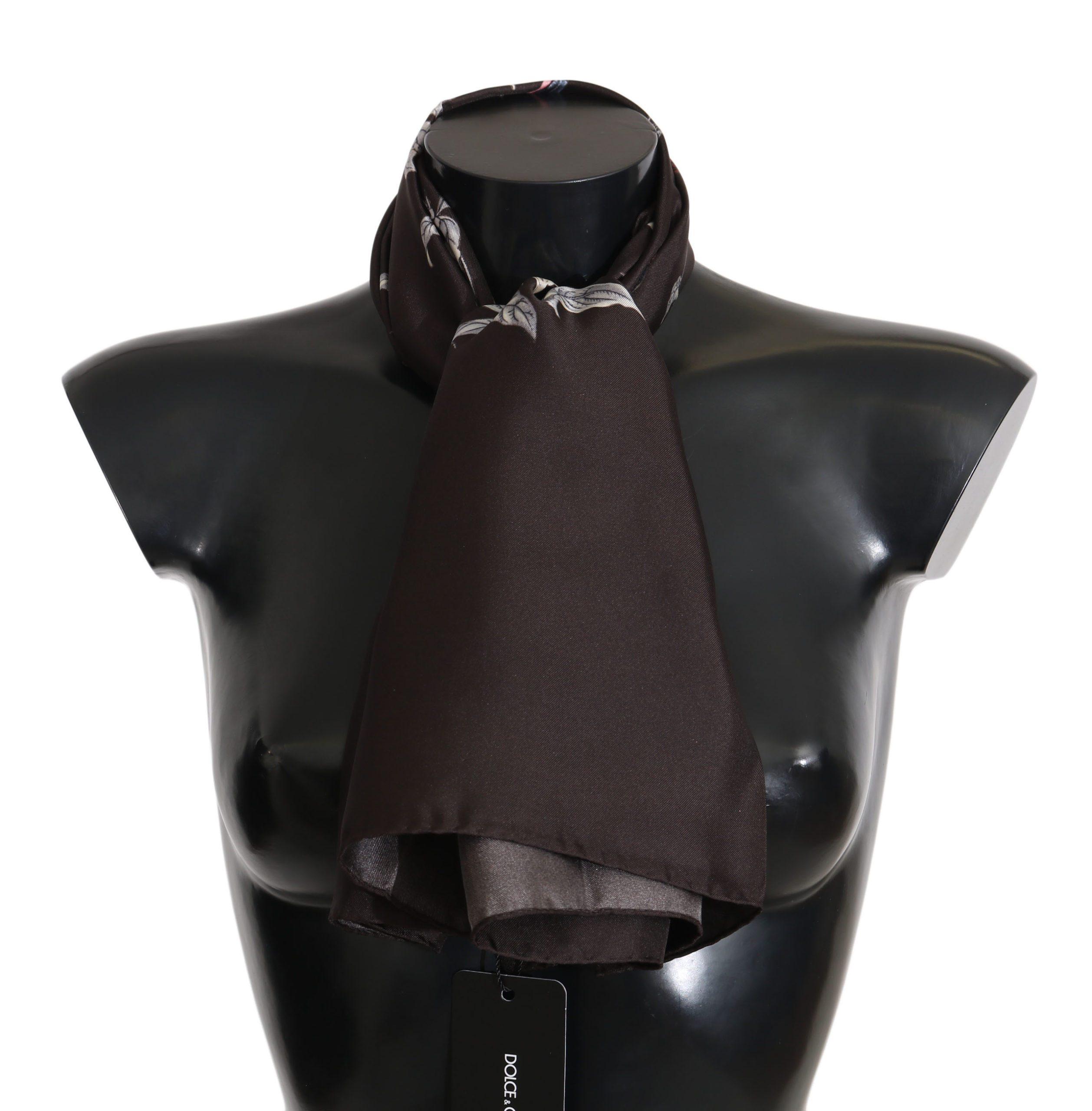 Dolce & Gabbana Women's Scarf Black MS5007