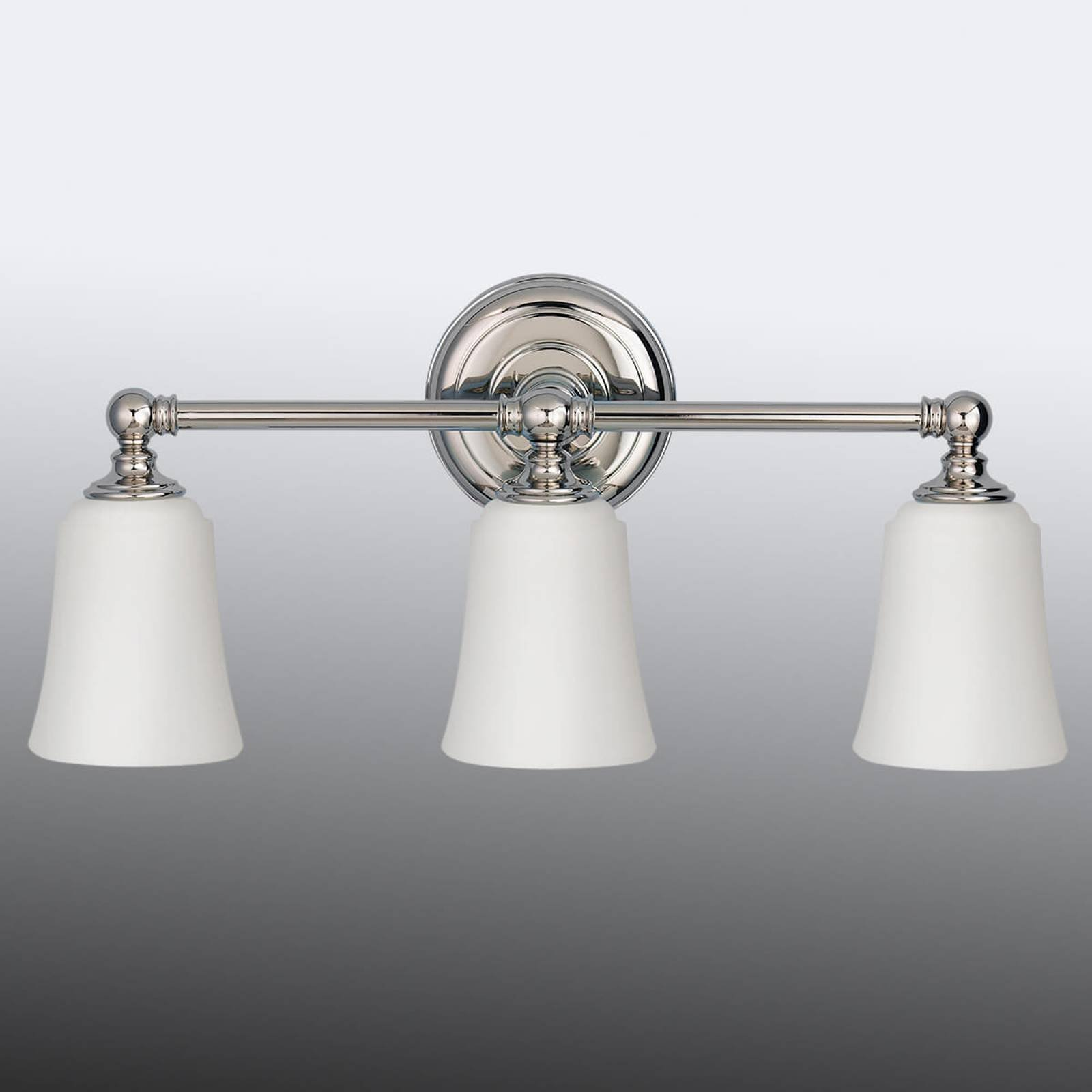 Vegglampe Huguenot Lake til badet, 3 lyskilde