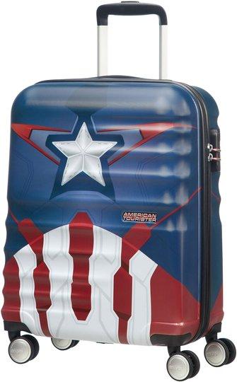 American Tourister Trillekoffert Marvel Avengers, Blå/Rød