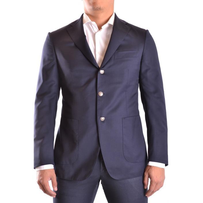 Burberry Men's Blazer Blue 164025 - blue 50