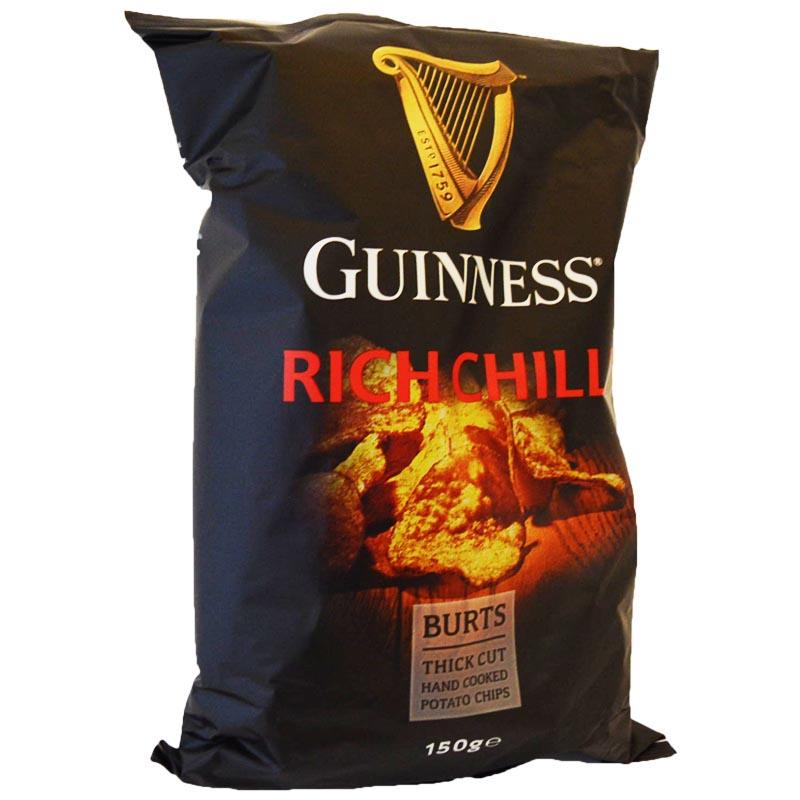 "Chips ""Guinness Rich Chilli"" 150g - 45% rabatt"