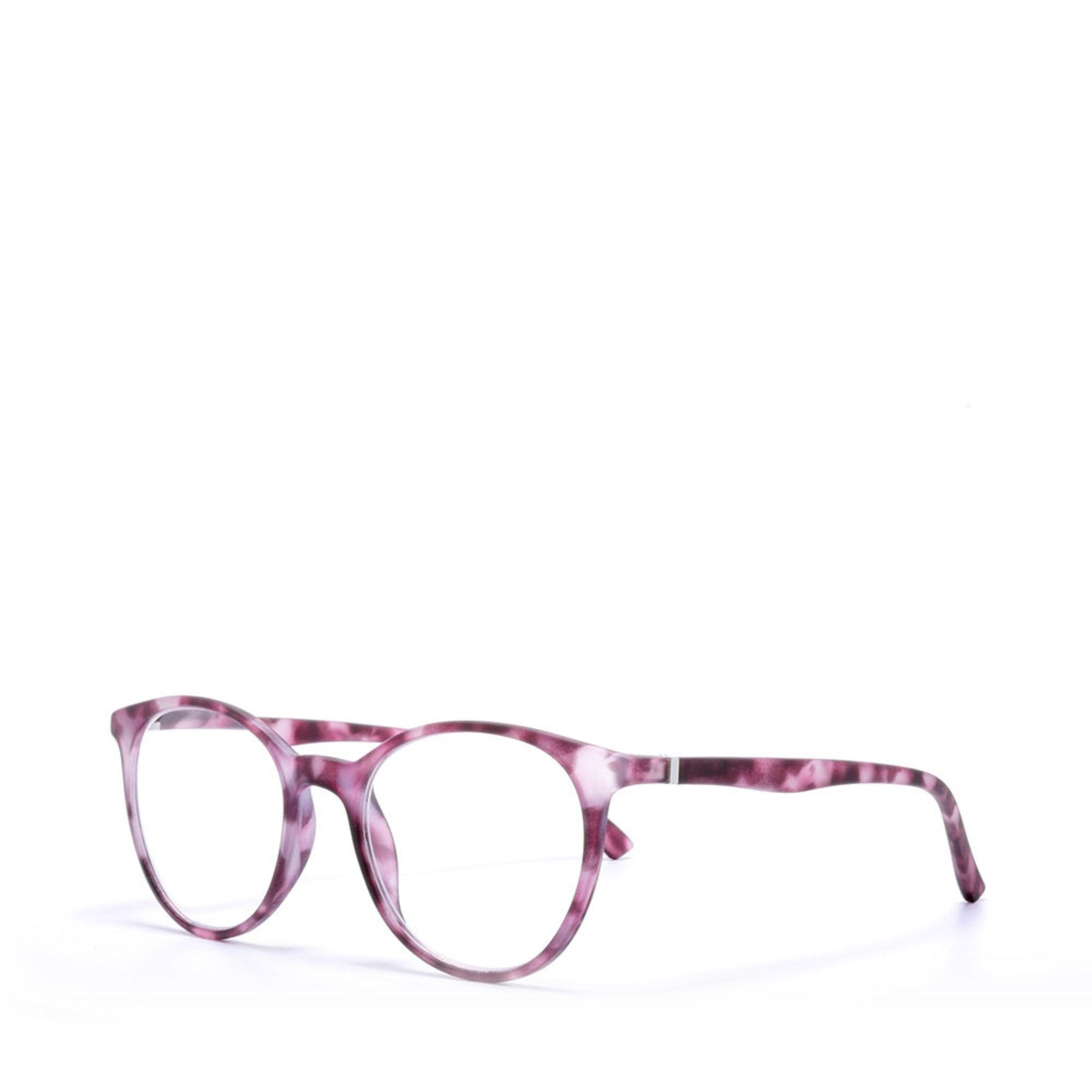 Demi Pink Reading Glasses, +3