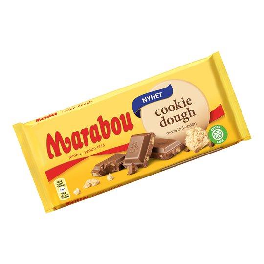 Marabou Cookie Dough Chokladkaka - 185 gram