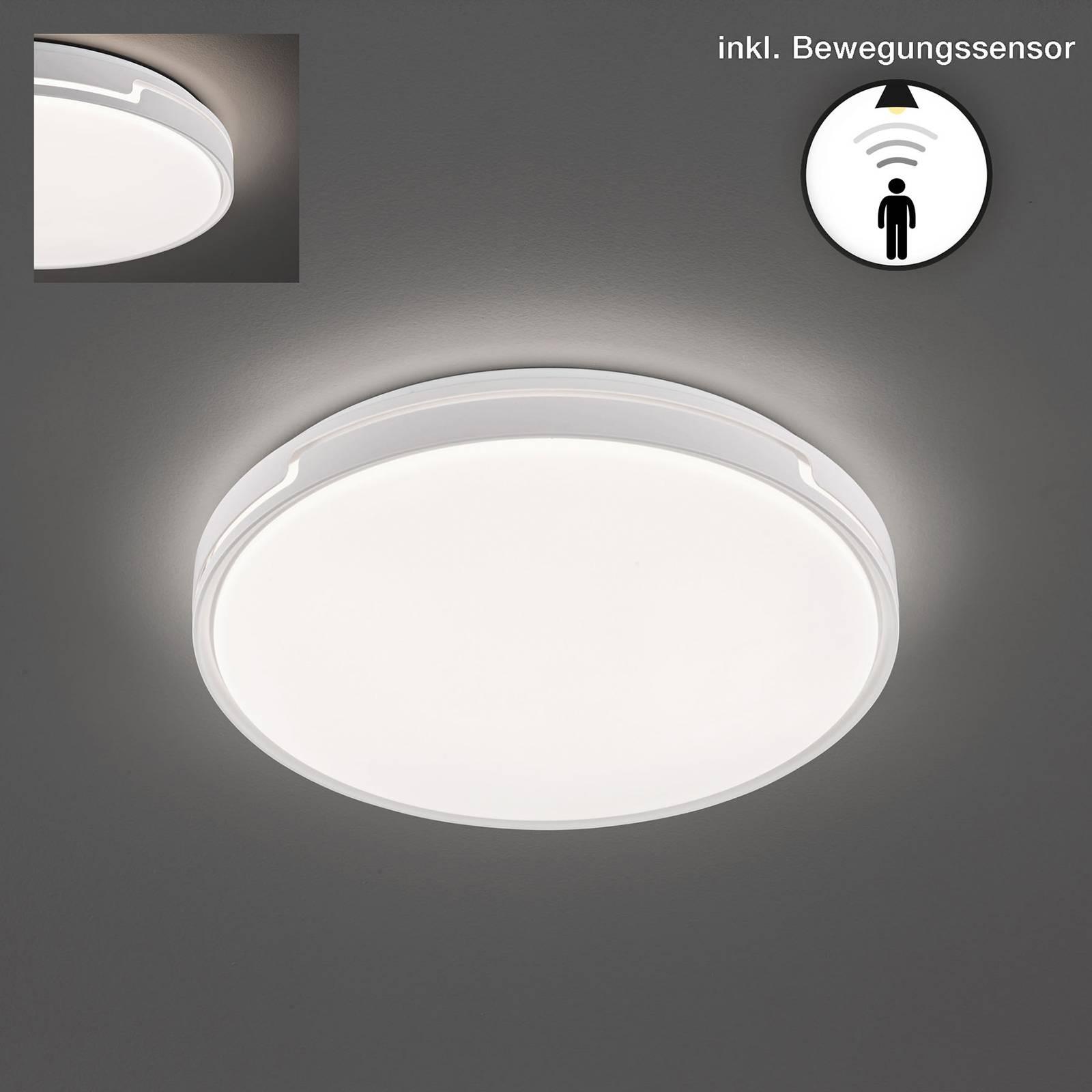 LED-kattovalaisin Tex BS liiketunnistimella Ø 49cm