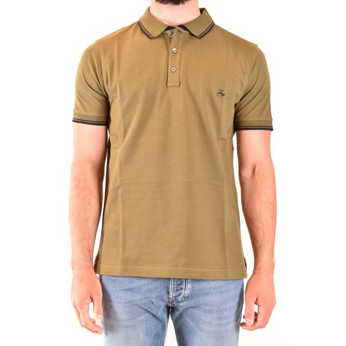 Fay Men's Polo Shirt Green 179623 - green S