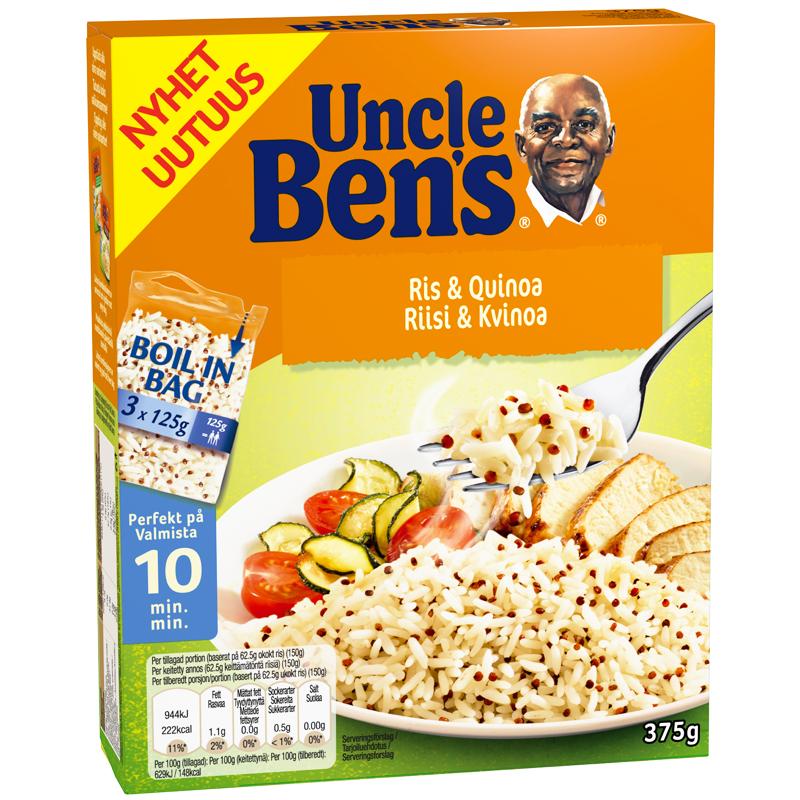 Pitkäjyväinen riisi & Kvinoa 375g - 40% alennus