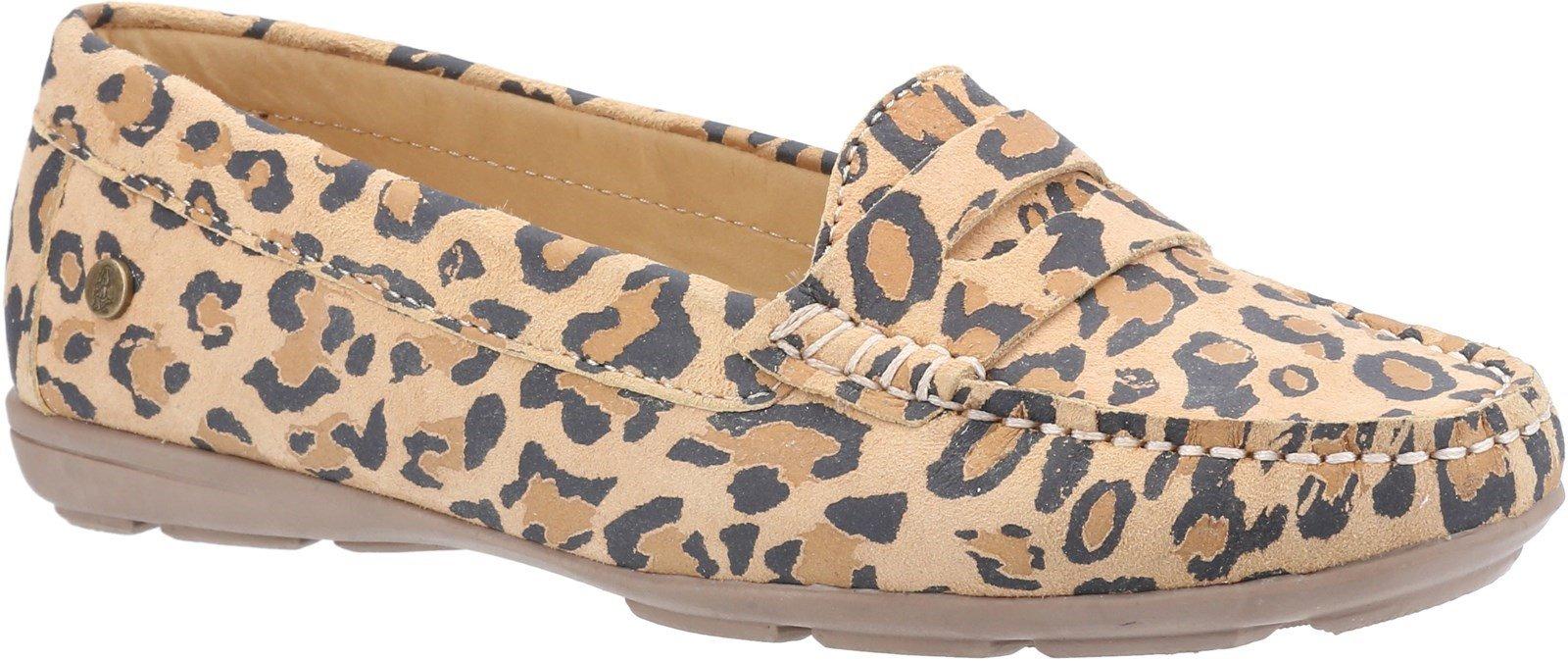 Hush Puppies Women's Margot Slip On Loafer Leopard 30238 - Leopard 3