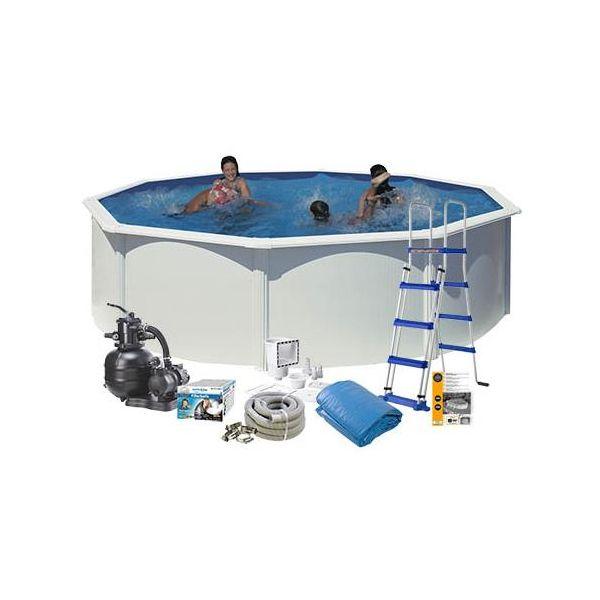 Swim & Fun 2701 Allaspaketti Ø4,6 x 1,2 m, 17 450 l