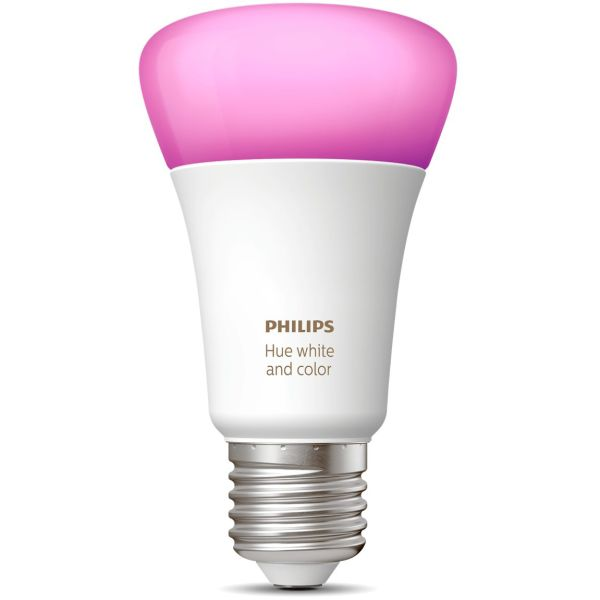 Philips Hue White and Color Ambiance LED-valo 9W, E27, A60