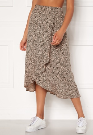 Happy Holly Emma skirt Leopard 32/34