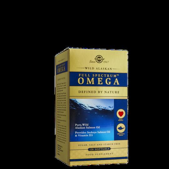 Wild Alaska Omega 3, 6, 7, 9, 120 softgels