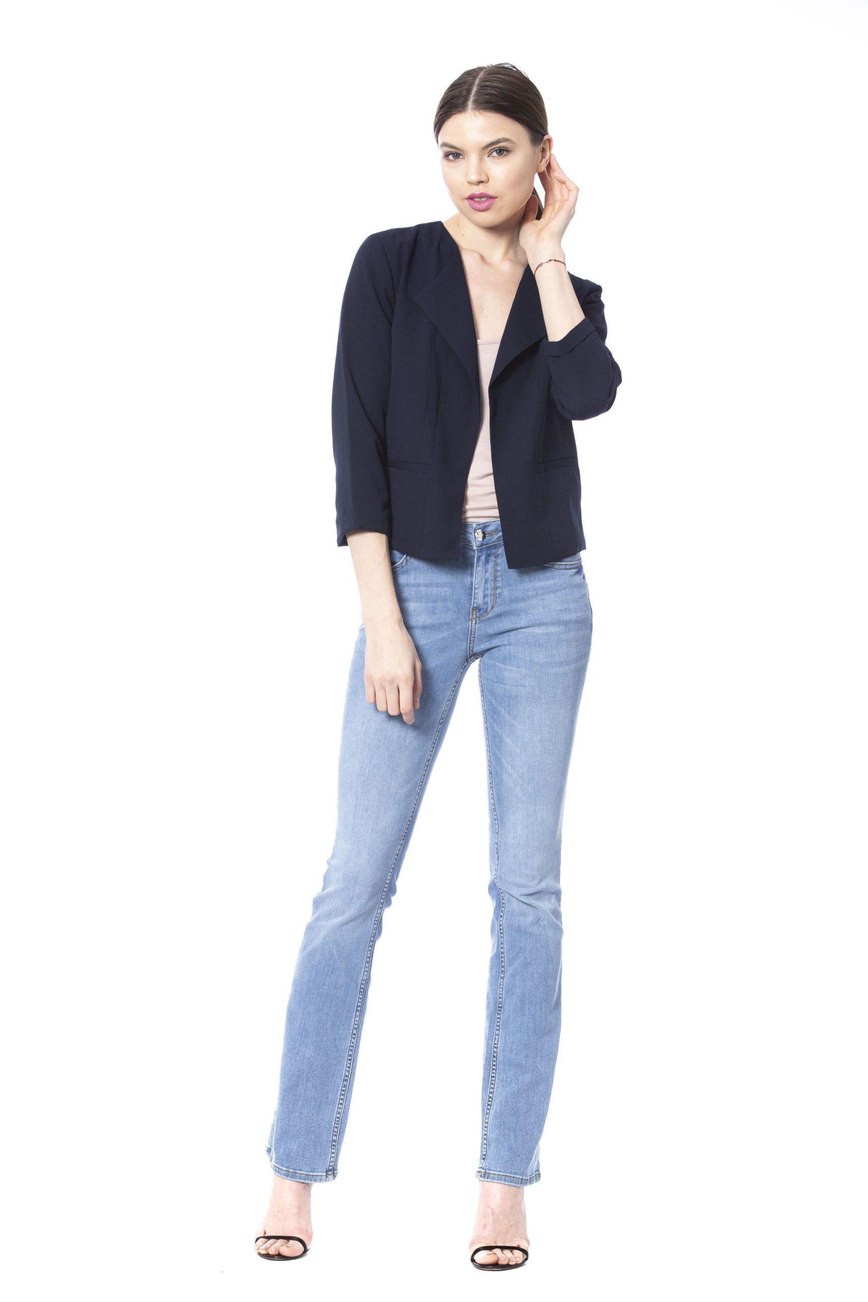 Silvian Heach Women's Formal Jacket Blue SI1264174 - XS