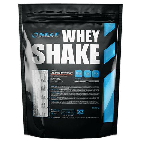 """Proteinpulver Shake """"Smooth Strawberry"""" 1kg - 45% rabatt"""