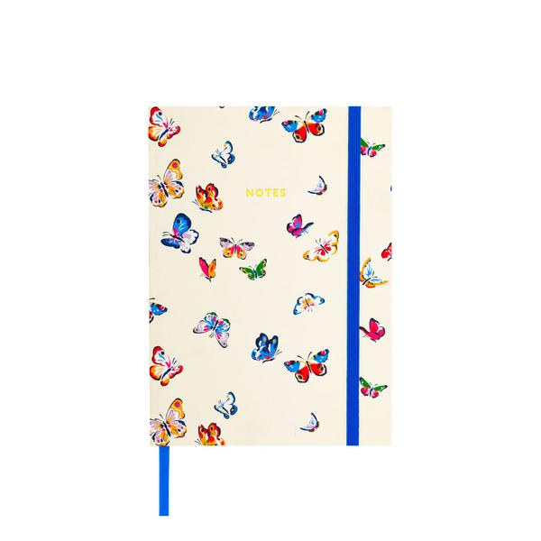 Autumn Butterflies Clothbound Notebook A5