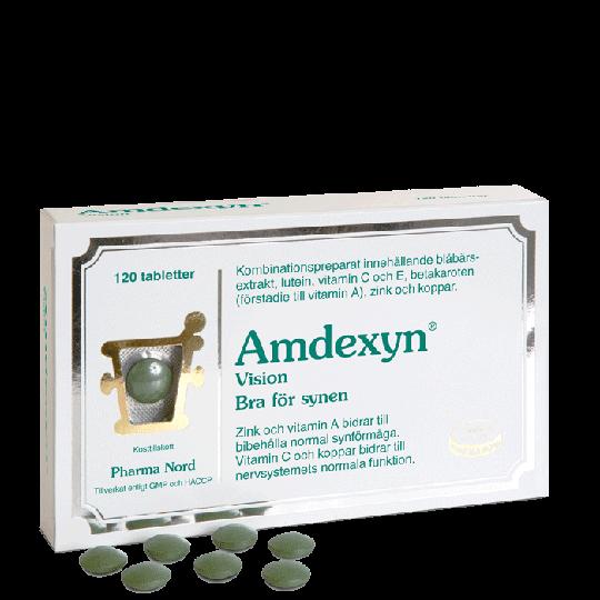 Amdexyn Vision, 120 tabletter