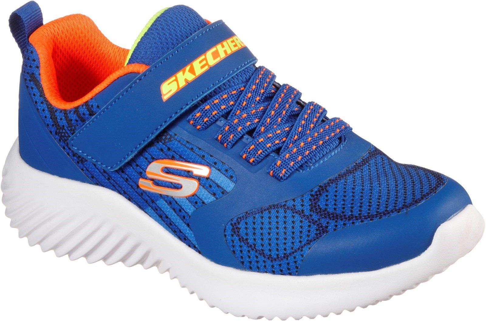 Skechers Kid's Bounder Gorven Sports Trainer Royal Orange 31177 - Royal Orange 5