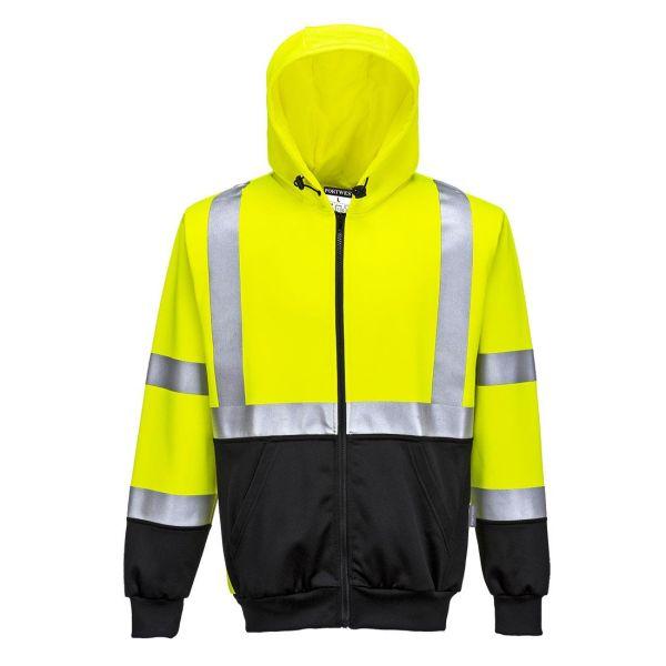Portwest B315 Luvtröja Hi-Vis gul/svart S
