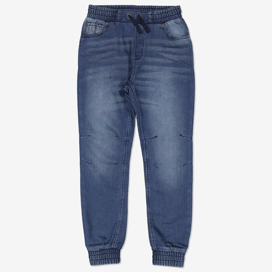 Bukse i denim blå denim