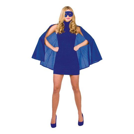 Superhjälte Blå Tillbehörskit - One size