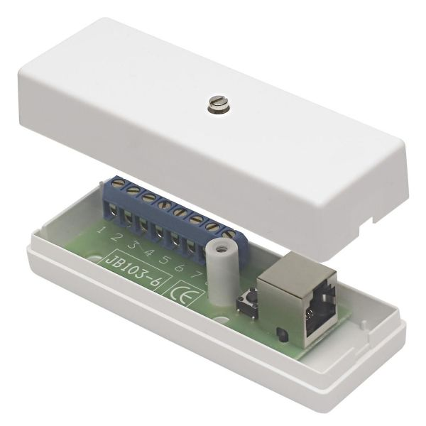 Alarmtech JB 103-6 Kytkentärasia 8 ruuviliitintä