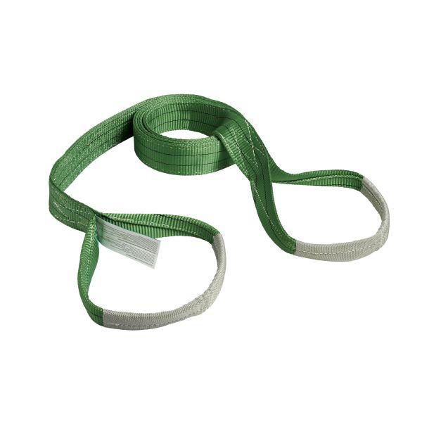 Ironside 100138 Båndstropp grønn, 2T 2 m