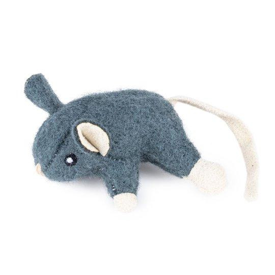 Little&Bigger Wool Mus (Grå)