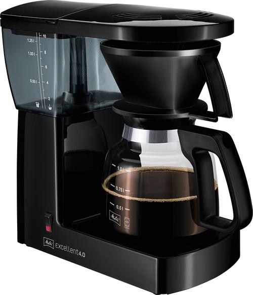 Melitta Excellent 4.0 Black Kaffebryggare - Svart