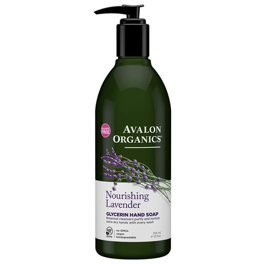 Avalon Organics Nourishing Lavender Glycerin Hand Soap, 355 ml