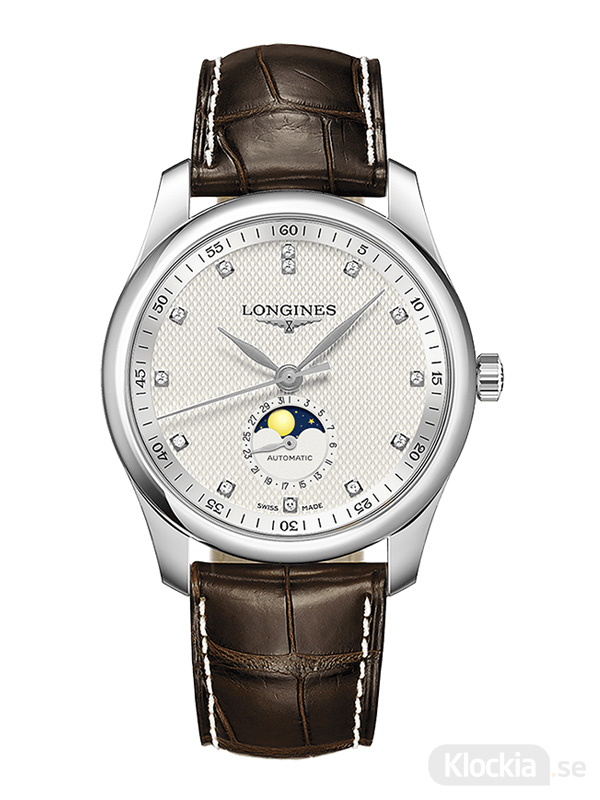 LONGINES Master Collection Moon Phase Diamonds 40mm L2.909.4.77.3