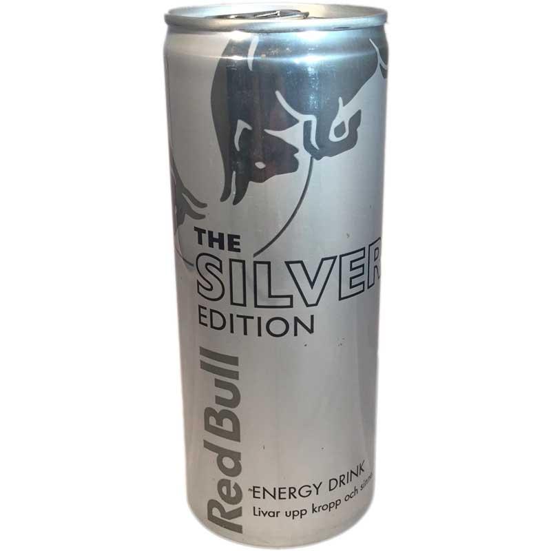 Redbull Silver Edition - 60% rabatt