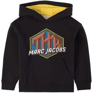 The Marc Jacobs Logo Huvtröja Svart 2 år