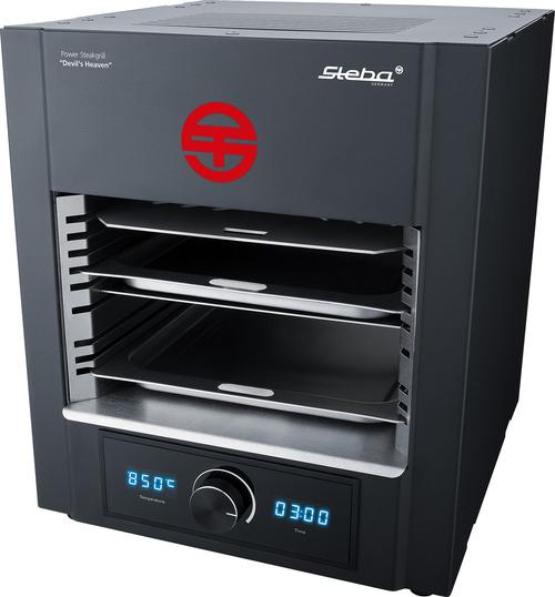 Steba Psm2000 Power Steakgrill 850c Max 2000 W Miniugn - Svart