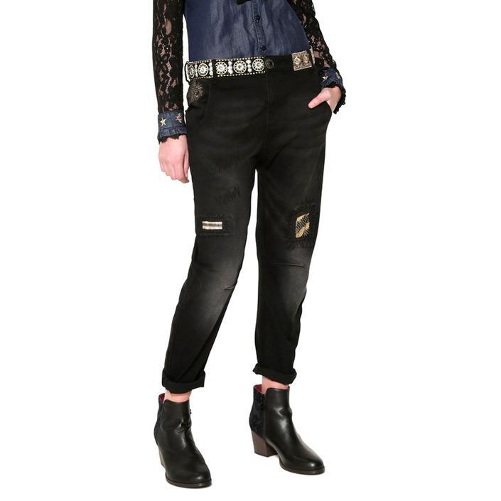 Desigual Women's Jeans Black 180965 - black w25