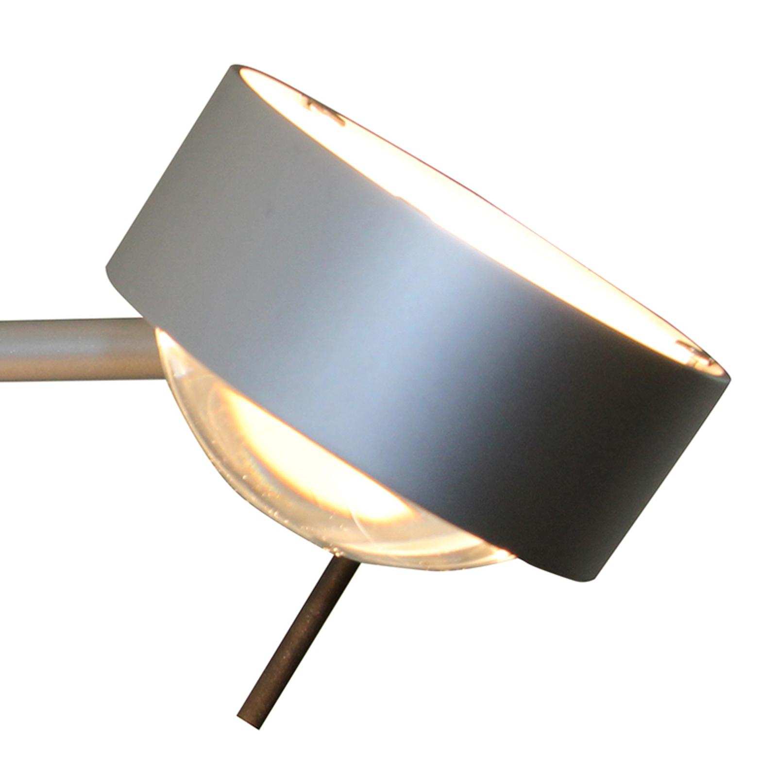 1 lampun PUK SIDES -seinävalaisin 30cm matta kromi